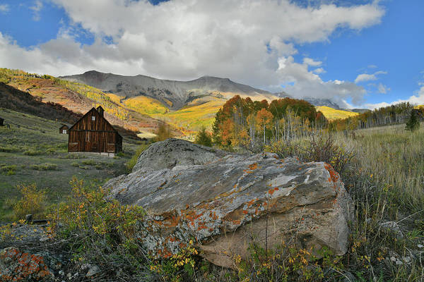 Photograph - Rustic Ranch Scene Near Telluride by Ray Mathis