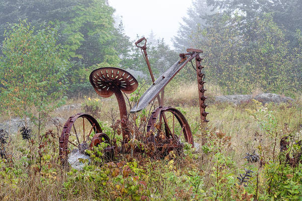 Photograph - Relic Reaper 2 by Marty Saccone