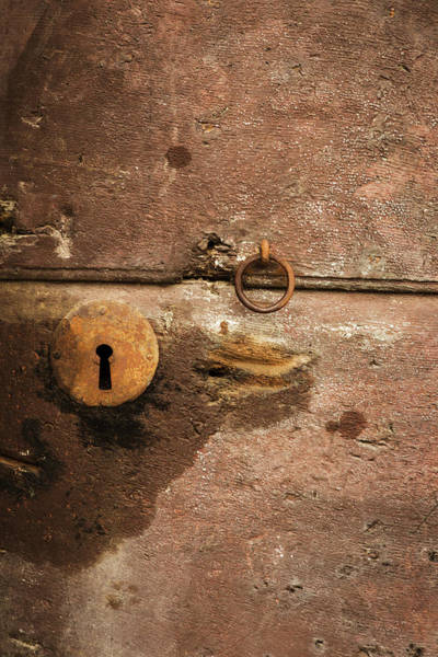 Mfa Wall Art - Photograph - Rusty Antique Lock In Siena by Iris Richardson