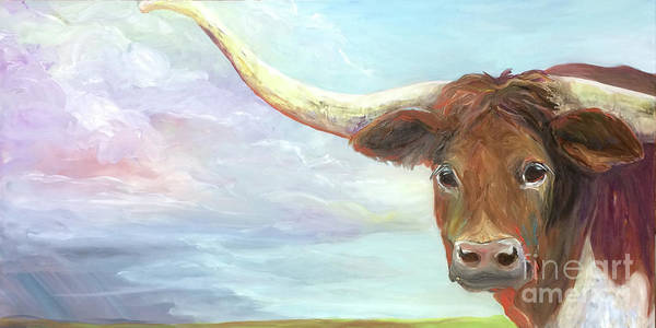 Painting - Rusty by Donna Hall