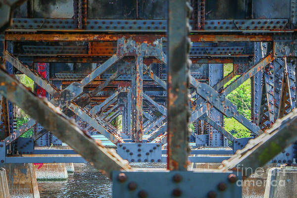 Photograph - Rusty Old Trestle by Tom Claud