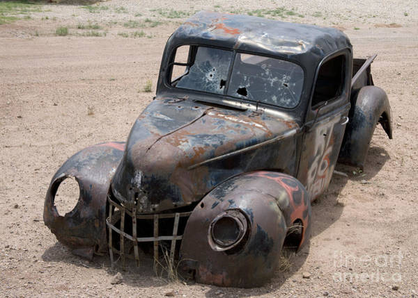 Photograph - Rusty Pickup, 2006 by Carol Highsmith