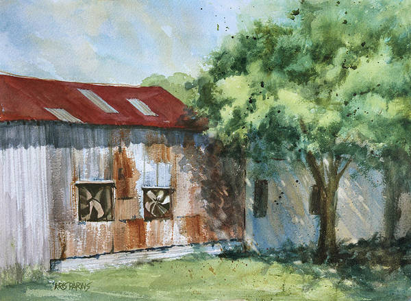 Wall Art - Painting - Rusty Rest by Kris Parins