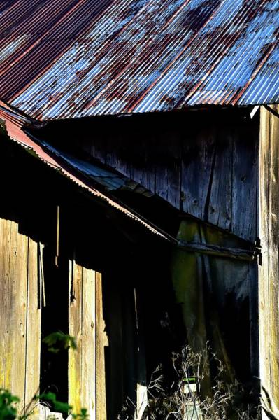 Photograph - Rusty Tin Roof Barn by Jerry Sodorff