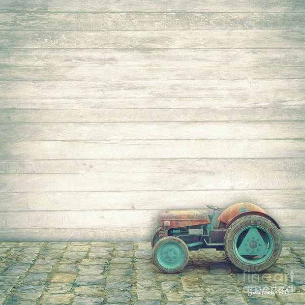 Digital Art - Rusty Vehicle by Jutta Maria Pusl