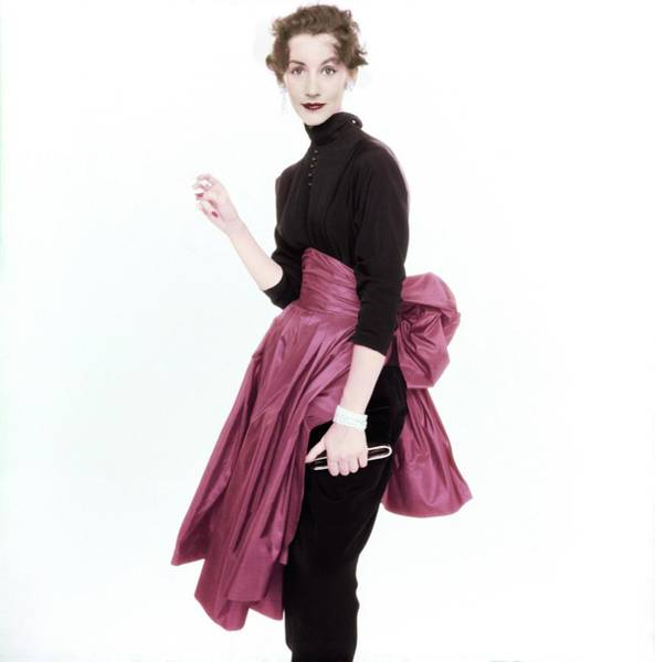 Photograph - Ruth Neuman-derujinsky In Talmack by Henry Clarke