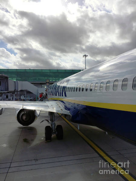 Wall Art - Photograph - Ryanair Aircraft by Tom Gowanlock