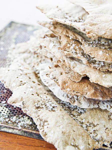 Delicatessen Photograph - Ryecrisp Close-up Sweden by Niklas Bernstone