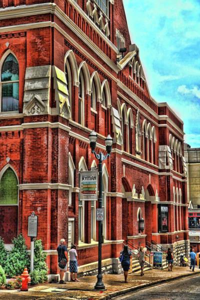 Ryman Auditorium Photograph - Ryman Auditorium # 2 - Nashville by Allen Beatty