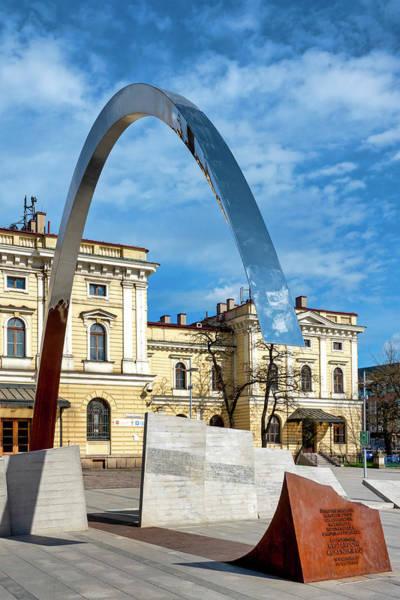 Photograph - Ryszard Kuklinski Monument by Fabrizio Troiani