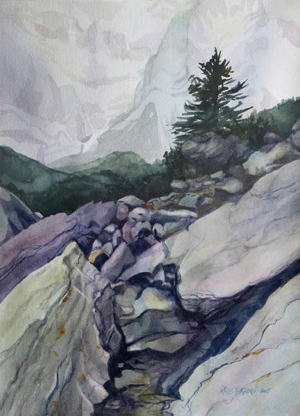 Wall Art - Painting - Treeline by Kris Parins