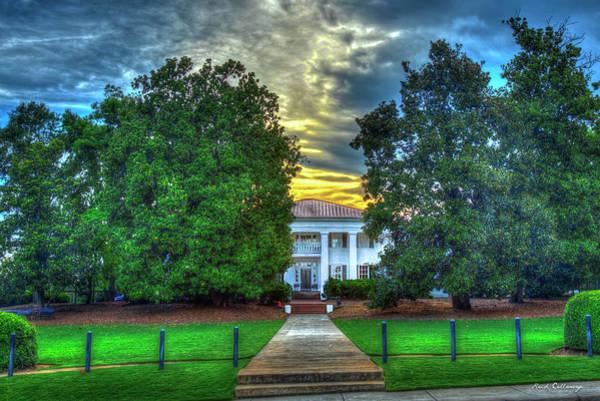 Photograph - S A E House University Of Georgia Athens Georgia Art by Reid Callaway