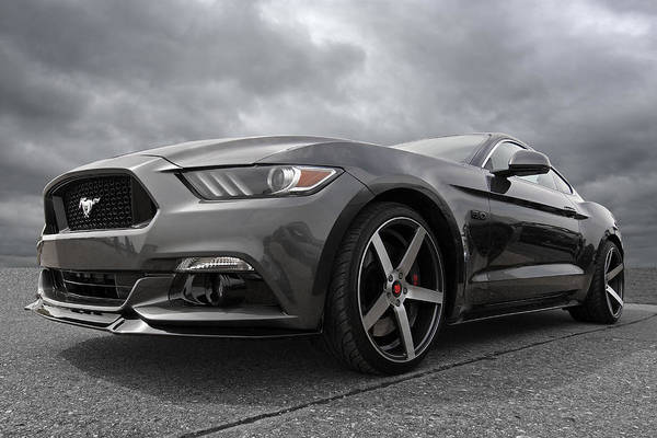 Photograph - S550 Mustang by Gill Billington