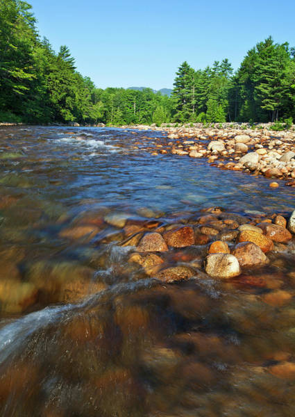 New Hampshire Photograph - Saco River Rapids by Wholden
