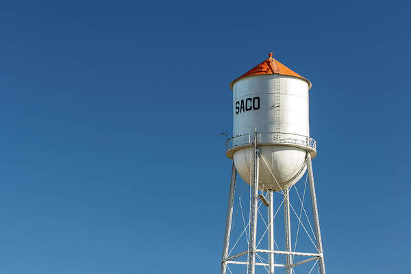 Wall Art - Photograph - Saco Water Tower by Todd Klassy