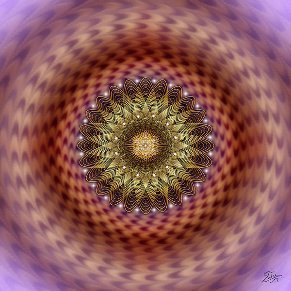 Digital Art - Sacred Geometry Number 736 by Endre Balogh