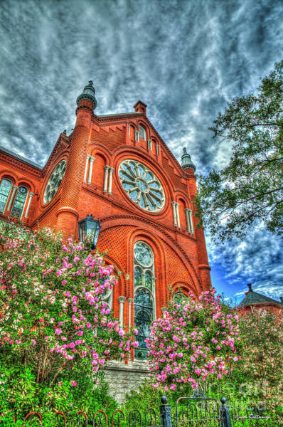 Choral Wall Art - Photograph - Sacred Heart Cultural Center 4 Architectural Art by Reid Callaway