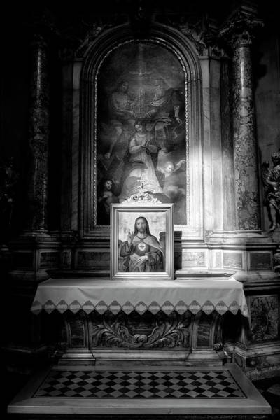 Wall Art - Photograph - Sacred Heart Of Jesus Beam Of Light by David Pyatt