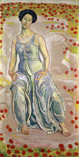 Wall Art - Painting - Sacred Hour, 1910 by Ferdinand Hodler