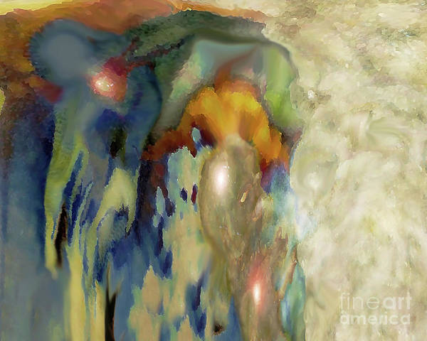 Pregnancy Mixed Media - Sacred Life by Bonnie Marie