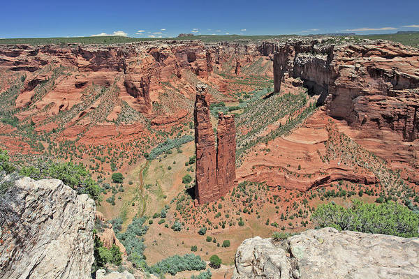 Photograph - Sacred Spider Rock by Gary Kaylor