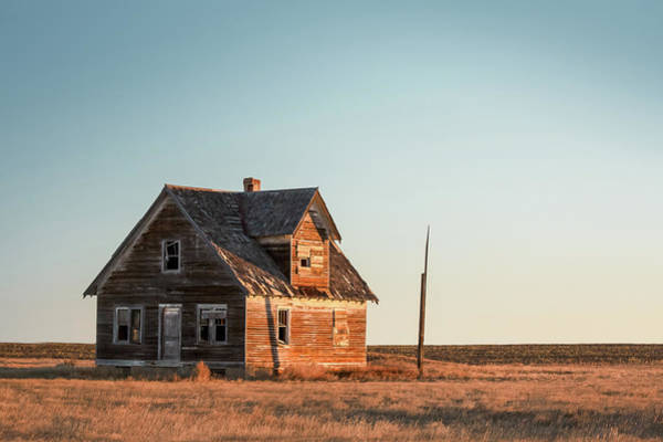 Wall Art - Photograph - Sad Homestead by Todd Klassy