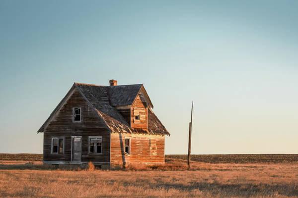 Photograph - Sad Homestead by Todd Klassy