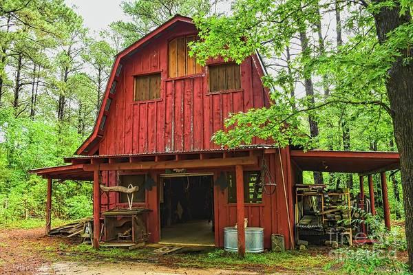 Photograph - Saddle Barn by Diana Mary Sharpton