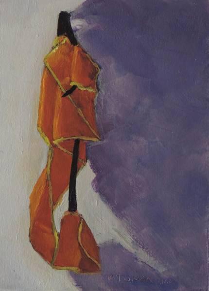 Safe Painting - Safety Vest Still Life by Bill Tomsa