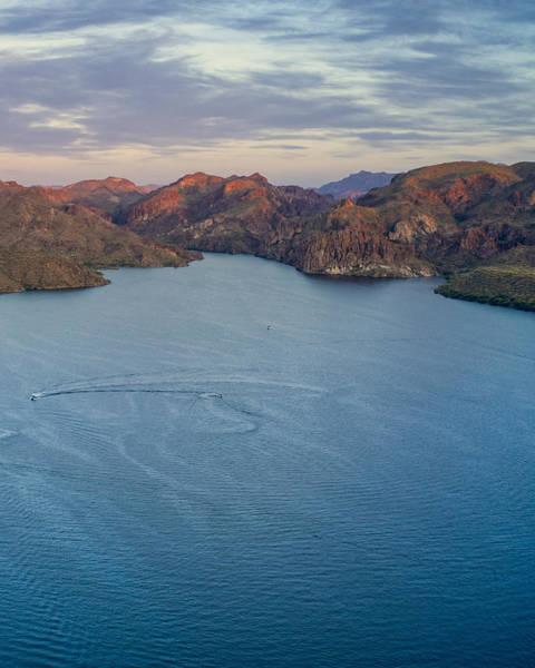 Photograph - Saguaro Lake Arizona by Ants Drone Photography