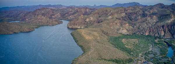 Photograph - Saguaro Lake Panorama by Ants Drone Photography