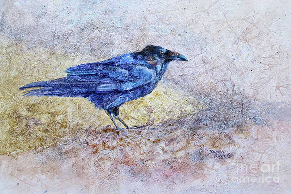 Crows Nest Wall Art - Painting - Said The Raven To The Crow by Bonnie Rinier