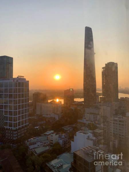 Wall Art - Photograph - Saigon Sunrise by Andrew Dinh