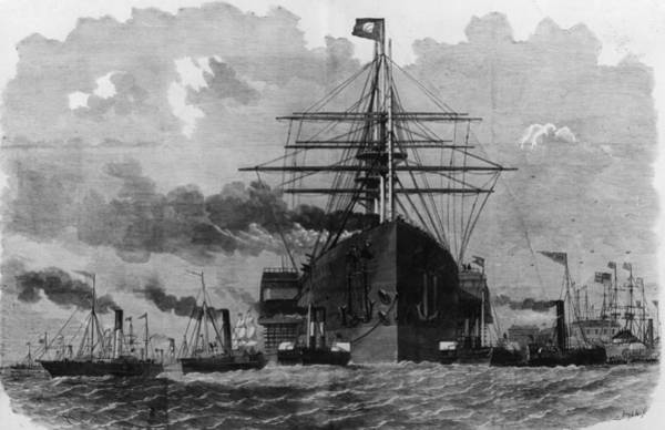 1850 Wall Art - Digital Art - Sail And Steam by Hulton Archive