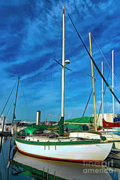 Photograph - Sailboat 0338 by Carlos Diaz