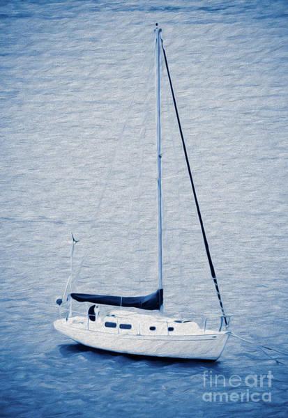 Digital Art - Sailboat Adventure In St. Thomas, Usvi by Kenneth Montgomery