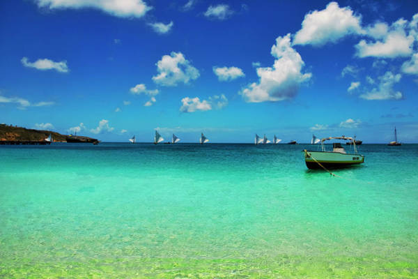 Photograph - Sailboat Races In Anguilla 2018 by Ola Allen