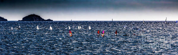 Photograph - Sailboat Racing In The Mediterranean by Thomas Marchessault