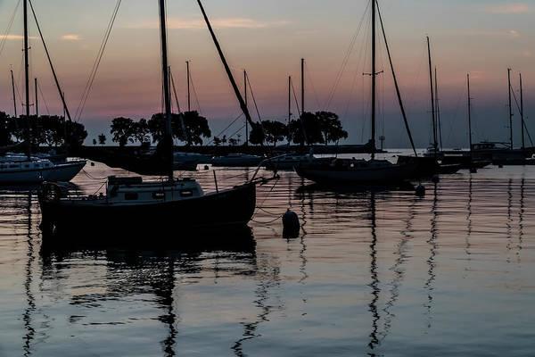 Photograph - Sailboats At Dawn  by Sven Brogren