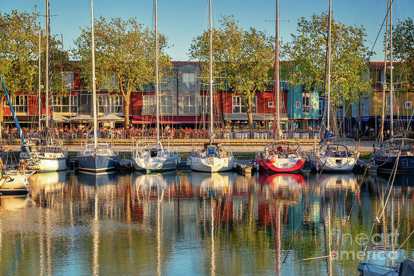 Holy City Photograph - Sailboats In La Rochelle by Delphimages Photo Creations