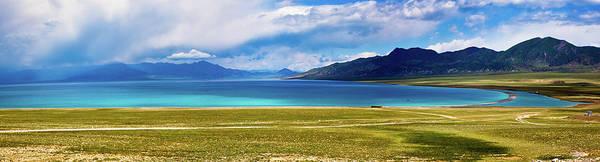 Wall Art - Photograph - Sailimu Lake by Zhouyousifang