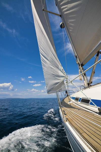 Photograph - Sailing Against The Wind by Gaspr13
