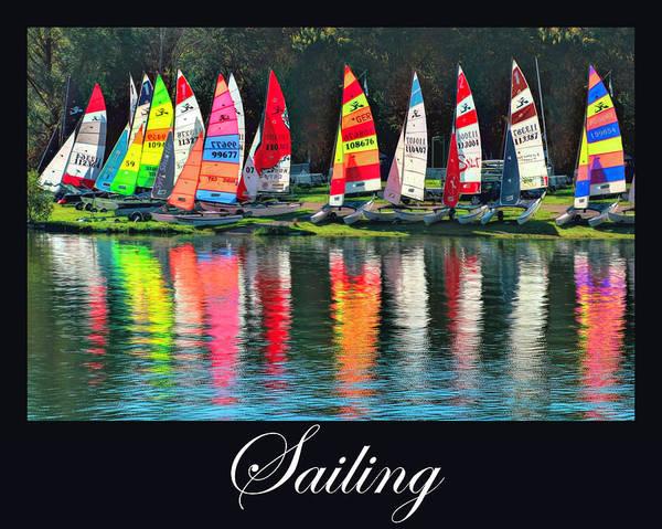 Digital Art - Sailing Art by Debra and Dave Vanderlaan