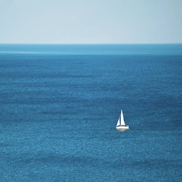 Scarborough Photograph - Sailing Boat by Pp008 Image