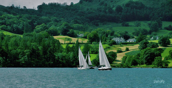 Photograph - Sailing By by Lance Sheridan-Peel