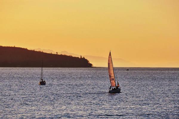Photograph - Sailing English Bay by JAMART Photography