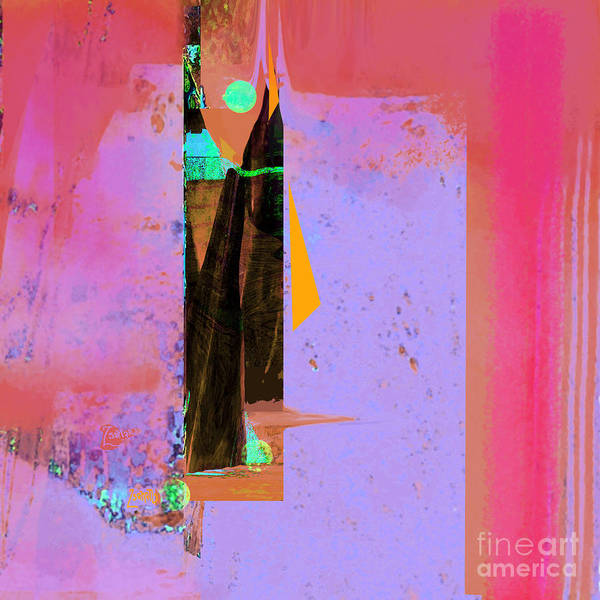 Organic Abstraction Mixed Media - Sailing Forever With Pythagoras No. 2 by Zsanan Studio