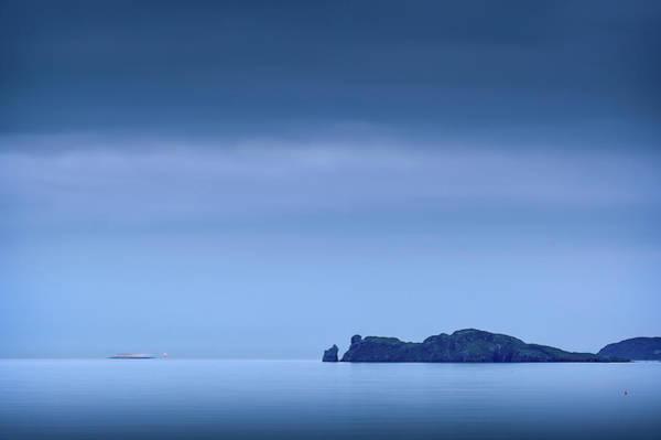 High Tide Photograph - Sailing Home by Niall Whelan