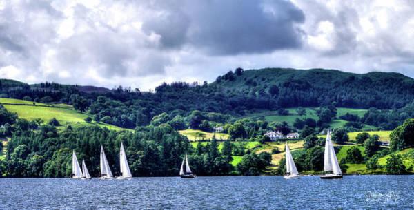 Photograph - Sailing In Heaven by Lance Sheridan-Peel