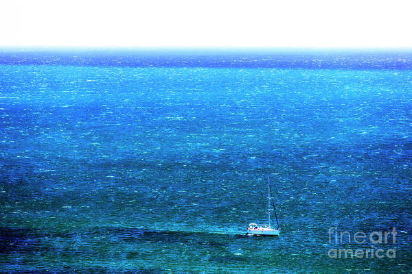 Photograph - Sailing In The Bay Of Cascais Portugal by John Rizzuto